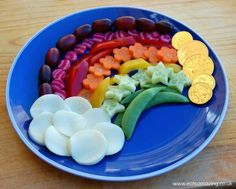 Rainbow Fruit and Ve