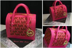 Michael Kors Cake | Code: A266 Michael Kors Pink Purse (Sculpted cake)
