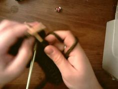 how to knit fingerless gloves with thumb gusset PT3