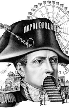 Napoleon - M Le Monde by Violaine & Jeremy, via Behance