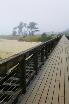 In Fort Bragg, CA, this 10 mile stretch hugs the coast and is a great place to bike or walk