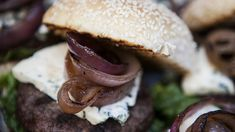 Backyard BBQ: Blue cheese burgers and more July 4 recipes from Martha Stewart