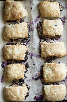 Blueberry Cobbler Biscuits