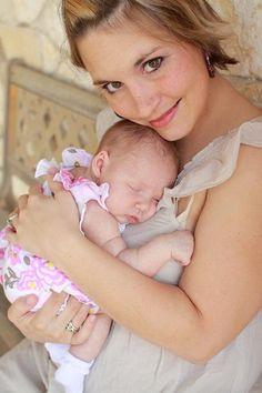 mommy and newborn