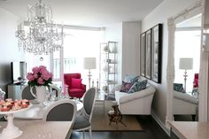 This living room is just fabulous {The Cross Decor & Design}