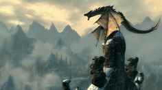 Skyrim. The greatest open-world RPG ever made.