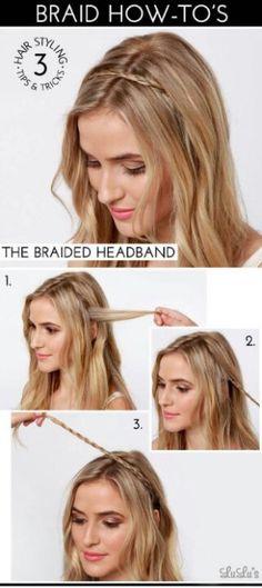 Braided Hair Headband tutorial!