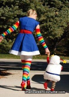 Rainbow Brite Cosplay - Halloween Costumes 2013