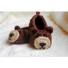 Teddy bear booties