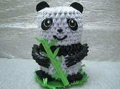 Panda 3D Origami    http://www.papercraftcentral.net/wp-content/uploads/2011/01/3D-Origami-Cute-Panda-1.jpg