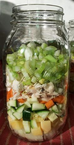 Canning Chicken Soup in Ball Mason Jars (Pressure Canning)