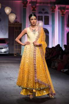 Anarkali by Meera Muzaffar Ali at India Bridal Fashion Week 2014