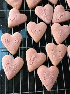 """I made some """"Love Javascript"""" biscuits to inspire me to keep going through the tough times with Codecademy! biscuit"""