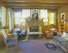 Laura's living room at Rocky Ridge Farm