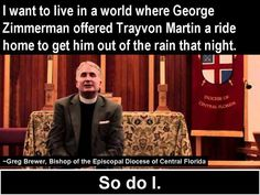 If only... George Zimmerman offered Travon Martin a ride home to get him out of the rain that night.