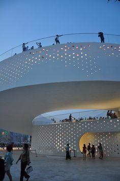 Denmark pavilion at the 2010 Shanghai World Expo
