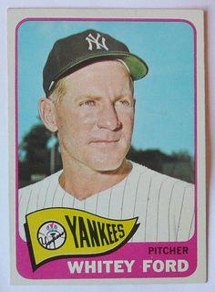 Whitey Ford (New York Yankees).