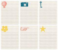 secret journal, notebook printabl, project life, notebooks, dear brighton, journal inspir, free printabl, life notebook, scrapbook project