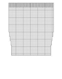 create a custom Christmas stocking knitting pattern
