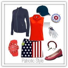 Patriotic #golf style