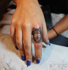 the wolf is my spirit animal :) Holy crap I love this! But I have a huge thigh piece In the works of a wolf.