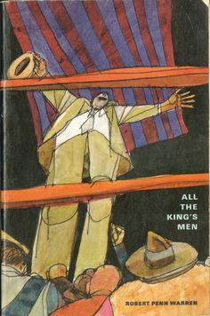Jerome Martin illustration, 1963. All the King's Men by Robert Penn Warren.