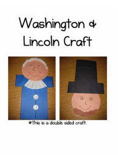 Cute presidents day Craft