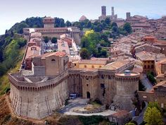 Volterra, Maremma, Toskana