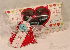 Heart Pillow Box  Kimberly Crawford