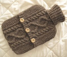 Hot water bottle cover inspiration