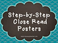 Check out my student-friendly posters with step-by-step instructions for Upper Elementary Students!