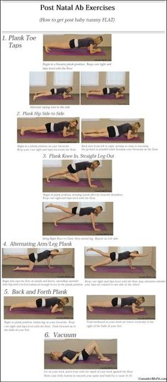 Post Baby Ab Exercises/Post Natal Abdominal PRINTABLE Workout - (How to get post baby tummy FLAT) - Please PIN and FOLLOW!  www.ConsiderMeFit.com