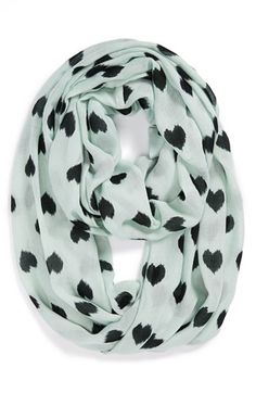 heart infinity scarf. i'm in love!