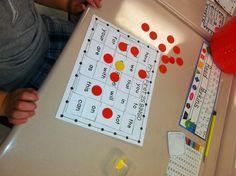 word bingo, read specialist, first grade, sight word