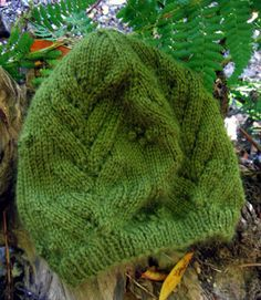hat_ferns2 by whatifknits, via Flickr-free pattern