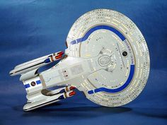 Starship One: Transportation of the President of the United Federation of Planets.  I saw this custom model somewhere ages ago, and I have been looking for it since.