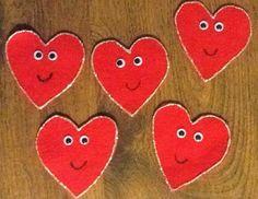 Felt Board Ideas: Valentine Poems for the Felt Board