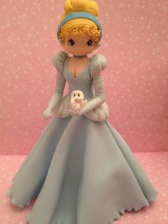 Princess Inspired Cold Porcelain by MICHELLCUSTOMDESIGNS on Etsy