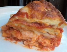 THIS is what pizza cake looks like on the inside. We have the recipe!