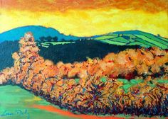 tara hill, paint irish, irish landscap