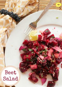 Cooking With Siri: Simple Indian Beetroot Salad Recipe