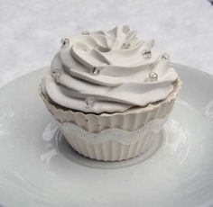 Plaster Cupcake Prop!