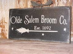 broom sign