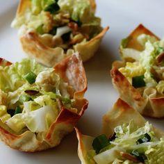 Asian Salad Cups