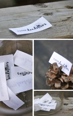 Another cute way to make labels!