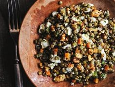 Made with sturdy lentils du Puy and a simple Dijon vinaigrette, David Lebovitz's lentil salad doesn't stray far from expected flavors. But each bite sings in perfect harmony with the next, making this dish a perfect template for experimentation.