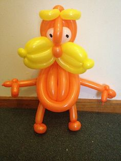 How cute, a Lorax balloon animal!