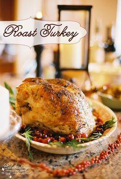 Easy Roast Turkey recipe ~