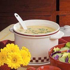 Easy Cheesy potatoe soup recipe... mmmm