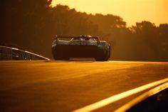 Porsche 917, sunset.